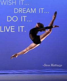 Dance Quote of the Day #dance #wish #dream