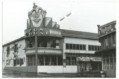 Found B&W Photo Old San Francisco Whitneys Playland at Ocean Pacific Beach