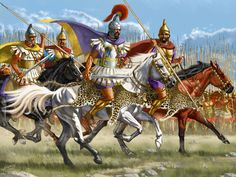 Philip of Macedon and the Macedonian Army Artwork by Johnny Shumate