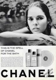 Ali MacGraw as the face of Chanel in 1967