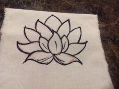 Lisa's lotus tattoo