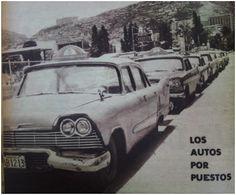 Autos por puesto, Caracas años 50