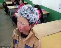 To χαμομηλάκι : Wang Fuman, από την Κίνα: Φτάνει στο σχολείο με πα...