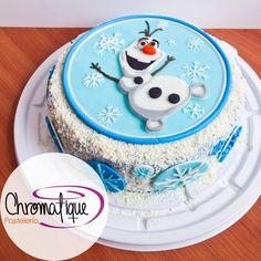 Frozen - Olaf cake (Torta de Frozen - Olaf) https://www.facebook.com/ChromatiquePasteleria