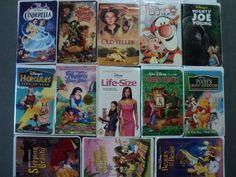 Disney 13 Pack VHS Movies Walt Disney: Cinderella Muppet Treasure Island Old Yeller (Vault Collec @ niftywarehouse.com #NiftyWarehouse #Geek #Fun #Entertainment #Products