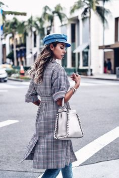 The VivaLuxury | Checks Please:: The One PatternYou Need in You Closet Now