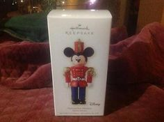 Hallmark 2008 Nutcracker Mickey Christmas Keepsake Ornament