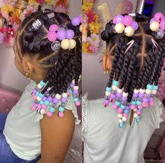 Black Kids Braids Hairstyles, Little Girls Natural Hairstyles, Toddler Braided Hairstyles, Kids Curly Hairstyles, Cute Hairstyles For Medium Hair, Baby Girl Hairstyles, Little Girl Braids, Braids For Kids, Girl Hair Dos