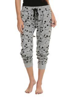 The Nightmare Before Christmas Jack Heads Girls Pajama Pants