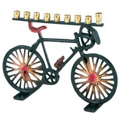 Hanukkah Bicycle Menorah For Chanukah, 2015 Amazon Top Rated Candlesticks #Home