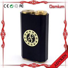 1.Dual 18650 Full mechanical box mod 2. 1:1 clone  osmium box mod 3. Force-fitted copper block inside the delrin making it resistant to heat. 4. Adjustable 510 connection 5. Slim and compact full mechanical box mod. 6. Custom made brass switch with silver coated copper positive contacts (mechanical switch) 7. Adjustabe silver coated copper negative pins. 8. Parallel dual 18650 configuration. 9. Embedded brass plate with Paradigm logo #vape #vapor #vapeporn #vapes #advken #dhgatepin
