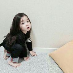 31 ideas baby girl ulzzang cute for 2019 Cute Asian Babies, Korean Babies, Asian Kids, Cute Babies, Asian Child, Cute Little Baby, Cute Baby Girl, Little Babies, Baby Kids