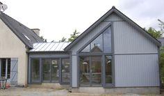 Extension très bien isolée en Ossature bois, 48 m2 par HEMMA CONSTRUCTION