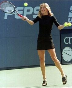 Tennis Shots: The Drop Shot Steffi Graff, Girl Celebrities, Celebs, Tennis Masters, Monica Seles, Tennis Online, Sport Tennis, Wta Tennis, Tennis World