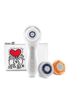 Clarisonic Smart Profile, Keith Haring | Bloomingdale's| I have this and the bag is adorable