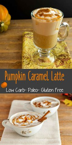Pumpkin Caramel Latte Low Carb and Paleo. so very yummy!! via @staceyloucraw