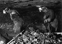 Underground Coal Mining Pics - Bing Images Look how they have to stoop over.my dad was a coal miner.my 6-2 brother worked in coal mines ad sometimes worked  area no taller  than the kitchen table.very hard work.my dad got black lung from the years in mines.
