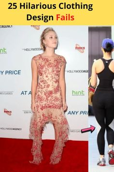 The world of fashion can be a strange place. In an endless attempt to come out with new, cutting-edge designs, creators sometimes miss the mark. They overlook problems that are oh so obvious once they reach production, or sometimes even later than that. Some mishaps are tragic, but others are quite hilarious. Here are 25 ridiculous clothing design fails that are sure to make you laugh. World Of Fashion, Love Fashion, Fashion Beauty, Fashion Sets, Kendall Jenner Style, Kylie Jenner, Design Fails, Cool Hair Color, Celebs