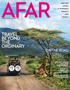 AFAR magazine - great resource for trip planning! Places Around The World, Around The Worlds, Marathon Runners, Travel Magazines, Most Beautiful Beaches, The Ordinary, Trip Planning, Travel Photos, Traveling By Yourself