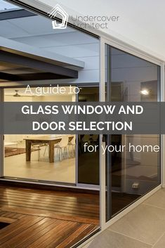A helpful guide to choosing glass windows and doors for your home Outdoor Living Areas, Outdoor Rooms, Living Spaces, Outdoor Showers, Modern Country, Country Life, Country Living, Skylights, Curtains With Blinds
