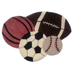 Hand Tufted All Sports Rug 2 8 X