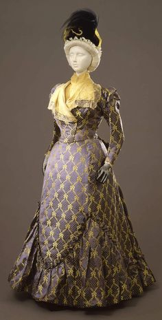 1897-99 Worth day dress