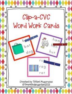 This set included 78 color coded CVC word cards 22 Short a Word Card bag, bat, cab, can, cap, cat, fan, gas, ham, hat, jam, mad, man, map, mat, pan, ram, ran, rat, sad, tag, van 12 Short e Word Card bed, gem, hen, jet, leg, net, pen, red, rex, ten, vet, web 14 Short i Word Card bib, dig, fin, hit, lip, lit, pin, pig, rig, rip, sip, six, wig, zip 15 Short o Word Card box, cob, cot, dog, dot, fog, fox, jog, log, mom, mop, pop, pot, top, ox 15 Short u Word Card bug, bun, bus, cup, gum, hug,