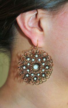 #Earrings #Vintagelace #Sweet7