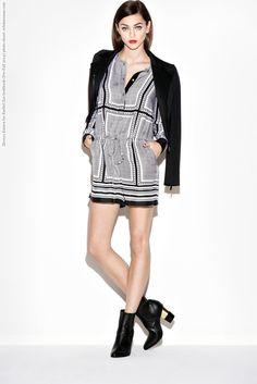 Zhenya Katava for Rachel Zoe lookbook (Pre-Fall 2014) photo shoot  #RachelZoe #ZhenyaKatava