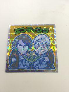 EpisodeⅥ ENDING Seal/STAR WARS×Bikkuri-Man Choco(LOTTE)