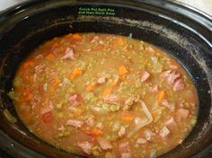Crock Pot Split Pea And Ham Hock Soup Recipe - Soul.Food.com