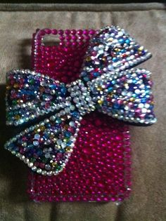 If I can ever get an iphone Im definitly getting a bling case.