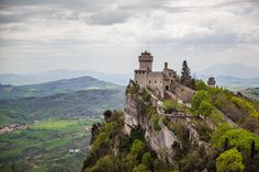 Tower, San Marino by Dmitry Fedoroff on 500px