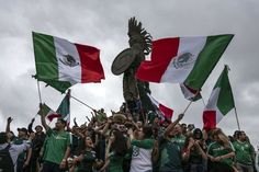 Did Mexicos Revelry in World Cup Win Over Germany Cause an Earthquake?