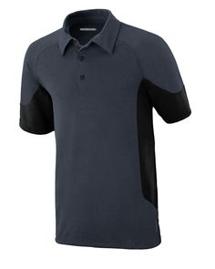 North End Sport Red Mens Refresh UTK CoolLogik Performance Polyester Melange Jersey Short Sleeve Polo Shirt 88677