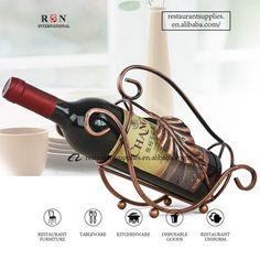 Metal Wine Rack Single Bottle Wine Rack for Restaurant and Bar Hospitality Supplies, Kitchenware, Tableware, Restaurant Furniture, Wine Rack, Restaurant Supply, Home And Garden, Bar, Bottle