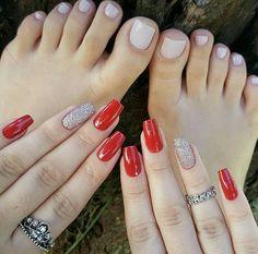 Toe Designs, Nail Art Designs, Pretty Toes, Pretty Nails, Gelish Nails, Nail Art Brushes, Feet Nails, Autumn Nails, Lip Art