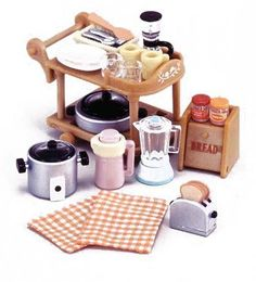 Epoch Sylvanian Families Sylvanian Family Dining Kitchen set Electric Kitchen set KA-407, http://www.amazon.com/dp/B0002YMOVW/ref=cm_sw_r_pi_awdm_mLapwb1TW13AA