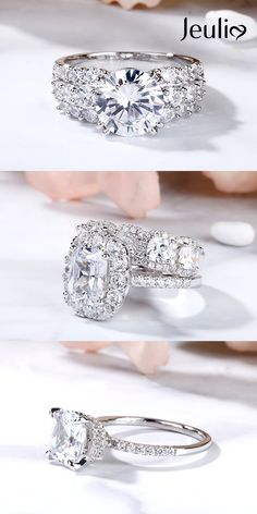New Collection For Bague de Fiançailles 2018 : Description Different Styles of Engagement Rings at Jeulia Are of Elaborate Designs and Good Quality. Jeulia Offers High-Quality And Affordable Jewelry. Bling Bling, Dream Engagement Rings, Designer Engagement Rings, Engagement Jewelry, Ring Ring, Wedding Jewelry, Wedding Rings, Diamond Dreams, Jessica Biel