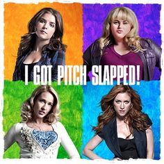I got Pitch Slapped!
