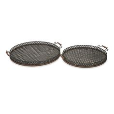 Great for entertaining, the Regency oversized iron trays are perfect for an outdoor barbeque or party.