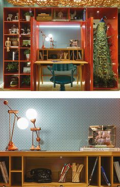 Casa-cor-goiania-2015-7 Snorkel Blue, Queenslander, Furniture, Home Decor, Arquitetura, Interiors, Houses, Desktop, Decoration Home