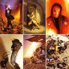 The Dark Tower Series, Magnum Opus, Master Chief, Illustrators, The Darkest, Fan Art, King, World, Inspiration
