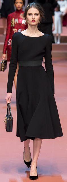 Dolce & Gabbana, fall 2015  RTW.