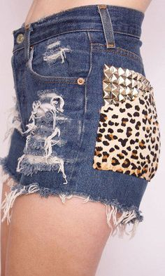 Highwaisted shorts | Cheetah