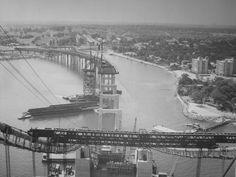 Throgs Neck Bridge Construction