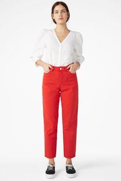 Taiki jeans - Red dragon - Jeans - Monki SE Bullar 51773314adbb8