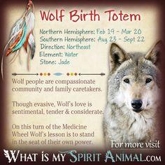 Wolf Native American Zodiac Sign Birth Totem X Native American Zodiac Signs Native American Wolf