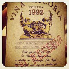 Viña Valoria 1992 - Gran Reserva