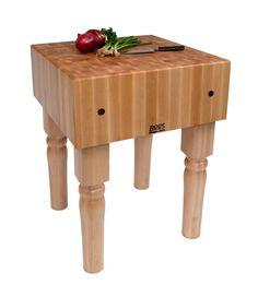 BoosBlock Butcher Block Prep Table